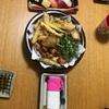 天ぷらと酢鶏