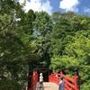 冠嶽神社と鎮国寺へ。