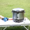 カセットガスで炊飯できるよう小型レギュレーターを購入してみた