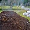 牛糞と腐葉土