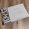 ダイソーのふわふわフェイスタオルで枕カバーを手縫い