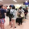 台湾からのチェンマイへ乗り換えに、女の子の黒いアレが見れるとは!
