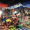 2016年東南アジアの旅【ラオス・ルアンパバーン編 ナイトマーケット、朝市の巻】