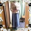 【着画】【コーディネート】~20年10月21日のコーディネート  プチプラ プチプラファッション 今日のコーデ 主婦ブログ