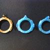【ベイブレードバースト超Z】青のレベルチップを入手。銅のレベルチップと比較してみた。