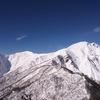 冬晴れの谷川岳 天神尾根を登る