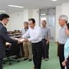 3日、只見川ダム災害金山町被害者の会が県の河川計画課に要望し懇談。