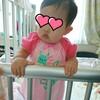 【娘の入院生活24日目】ACTH注射18回目でつかまり立ち