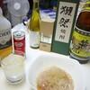 日常:スーパーでn割引になっていた天ぷらとかところてんとか食べながら酒でも飲むかいね~