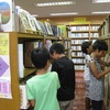 図書コーナー(児童書コーナー)レイアウト変更しました