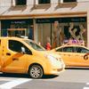 ブロードウェイのミュージカルを宣伝するyellow cab/イエローキャブ