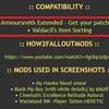 Armorsmith Extendedと他のModsのパッチ
