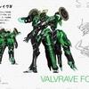ヴァルヴレイヴ、公式メカ情報が更新