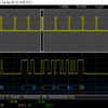 I²C および UART/RS-232C シリアルバスのトリガー・解析機能
