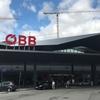 ウィーン空港からブダペストまでオーストリア連邦鉄道の発券とハンガリー国鉄の車両
