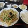 大森【麻婆香】肉と野菜炒め定食 ¥600