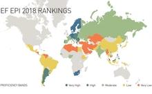 EF、世界各国の英語力を測る「EPI英語能力指数」の2018年版を発表
