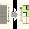 ピースを戻す表示を追加する (KATAMINOを解くプログラムを作成する)
