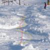 コブの滑りでよくある誤解 - コブの溝の中を滑ってしまう