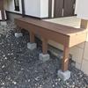 玄関脇を人工ウッドデッキで拡張してDIYで宅配ボックスを設置したよ (人工木材でウッドデッキをDIYする・パナソニックコンボ comboミドルサイズDIY設置)