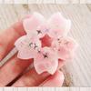 春色満載★桜の水面レジンに挑戦してみた♪