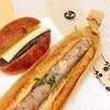 【パンもぐもぐ】coron(コロン)の道産豚ソーセージサンドと十勝あんバター