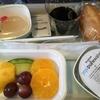 大韓航空(エコノミークラス)で機内食をフルーツプレートミールに変更してみた!
