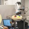 木造ハウス作りと産業ロボット操作体験