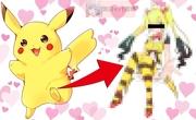 【ポケモン】ピカチュウを超絶美少女にしてみた結果…【Pikachu】