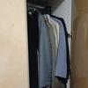 母の古い服を処分します
