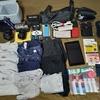 海外旅行の時に持っていく荷物一覧