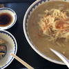 食堂ミサ 道の駅店の「みそラーメン」and ギョーザ (新潟県妙高市)
