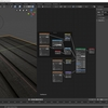 TEXTURE HAVENを利用してBlender2.8で床や壁の綺麗な質感を作る その5(アンビエントオクルージョン用テクスチャの設定)