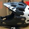 マウンテンバイク用のヘルメットをフルフェイスにしてよかった