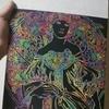 スクラッチアートに挑戦しました!