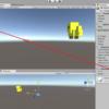 3D LookAtを使って敵をこちらに向けさせる Vector3.Lerpを使って動かす