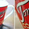 Tommy's coffee のマグカップ。