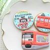 京急電車2100系と「けいきゅん」のアイシングクッキー(*^^*) さくらんぼ&メロンたっぷりショートケーキ♪♪