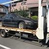 西東京市から事故車をレッカー車で廃車の引き取りしました。