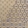 着物生地(114)切りばめ風絣織り出し手織り紬