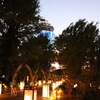 江の島の美しすぎる夕陽と幻想的な灯篭と。