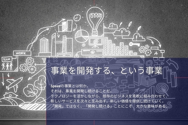 """未来を引きよせる""""事業開発集団"""" Speeeの遺伝子"""