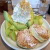 今日のパンケーキ Hona cafe 新宿アパホテル内