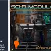Sci-Fi Modular Pack 未来の警察署をテーマにしたモジュール型の建築物3Dモデル