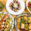 野菜多めの和風夕食