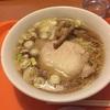 久しぶりのにぼ銀で食べる「鳥煮干」