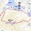 兵庫県加西市の善防山城跡