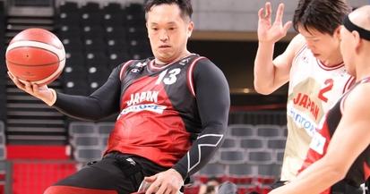 【パラスポーツ】車いすバスケ=男女日本代表候補がパラリンピック会場で強化試合