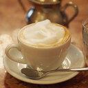 コーヒー片手に