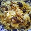 生米きのこリゾット スープで炊くまじめバージョン